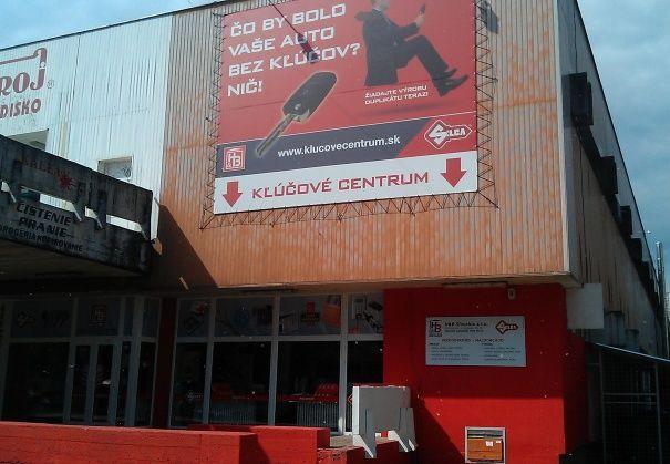 prodejna Bratislava